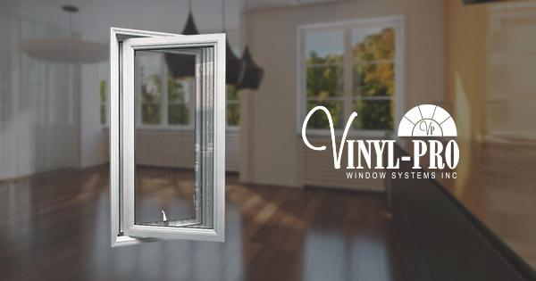 Casement Windows With Crank For Ventilation Vinyl Pro