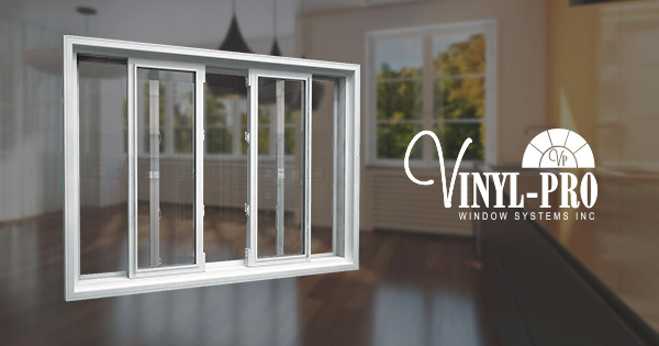 End Vent Slider Windows With Tilt For Easy Clean Vinyl Pro